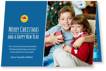 Aktuelle Weihnachtskarten, Weihnachtsmütze