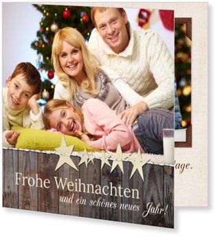 Aktuelle Weihnachtskarten, Weihnachtsstimmung
