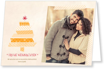 Aktuelle Weihnachtskarten, Weihnachtstape
