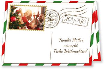 Aktuelle Weihnachtskarten, Weihnachtspost