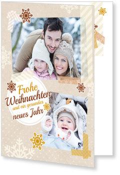 Aktuelle Weihnachtskarten, Weihnachtswunder in Braun