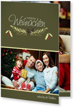 Aktuelle Weihnachtskarten, Weihnachtszweig