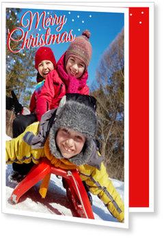 Aktuelle Weihnachtskarten, Winterspaß