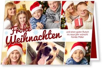 Aktuelle Weihnachtskarten, Weihnachtlicher Glanz
