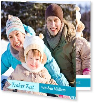 Aktuelle Weihnachtskarten, Weihnachtsstreifchen