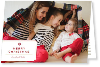 Aktuelle Weihnachtskarten, Familienfoto