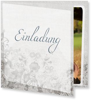 Einladungskarten Hochzeit, Spitze