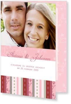 Einladungskarten Hochzeit, Patchwork
