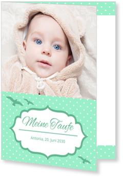 Einladungskarten Taufe, Möwen