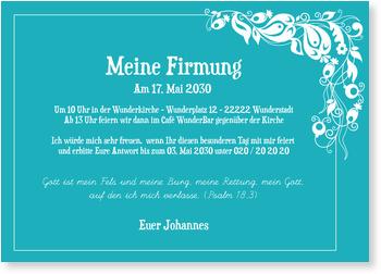 text einladung firmung - vorlagen, Einladung