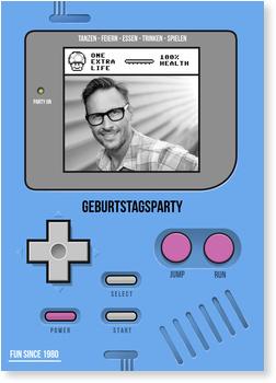 Einladungskarten 50. Geburtstag, Partygame