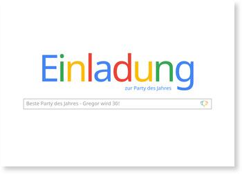 Einladungskarten Geburtstag, Geburtstag Suchmaschine