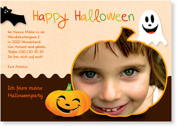 Einladungskarten Halloween , Happy Halloween