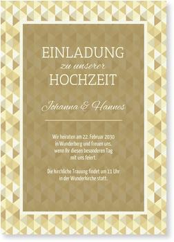 Einladungskarten Hochzeit, Apart