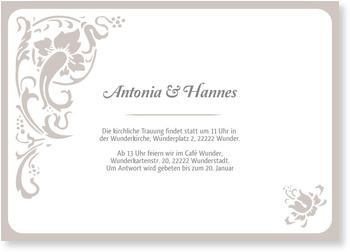 Einladungskarten Hochzeit, Folklore