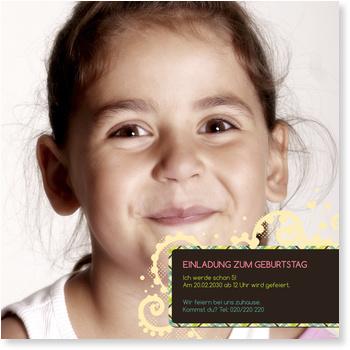 Einladungskarten Kindergeburtstag, Endlich Geburtstag