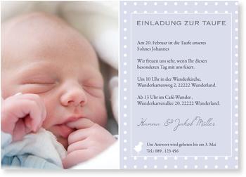 Einladungskarten Taufe, Einladung Taufe Küken