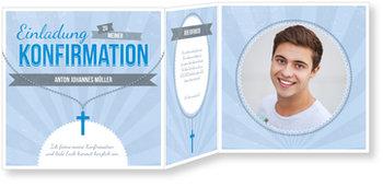 Einladungskarten Konfirmation, Heilige Kette