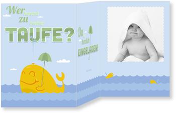 Einladungskarten Taufe, Babywal