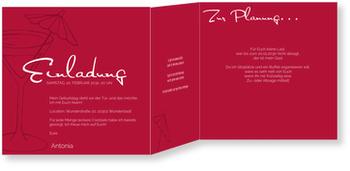 Einladungskarten 50. Geburtstag, Cocktail