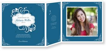 Einladungskarten Konfirmation, Ornamentemblem