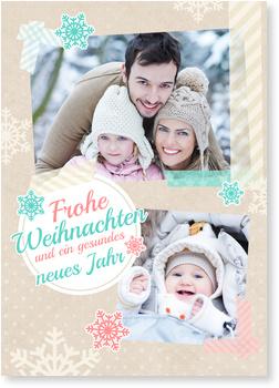 Weihnachtskarten Baby, Weihnachtswunder