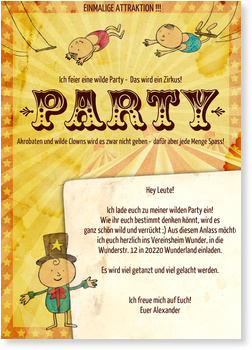 Einladungskarten Party Gratis Musterkarten Und Versand