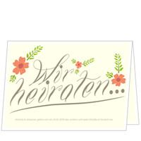 Hochzeitsblüte