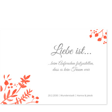 Liebe ist... in Rot