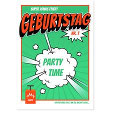 Partyknaller in Grün