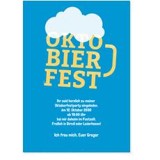 Oktobierfest in Blau