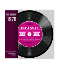Schallplatte in Pink