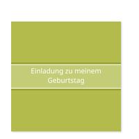 Simpel in Grün