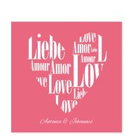 Herz aus Liebe