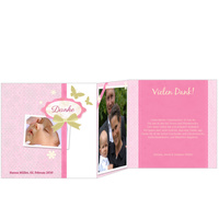 Scrapbook in Rosa