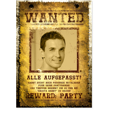 Wanted - 30 Jahre