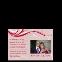 Hochzeitseinladung: Schwingen