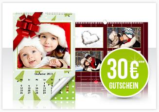 30 Euro Gutschein und Kalender