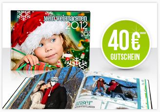 40 Euro Gutschein und Fotobuch