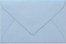 Umschlag aquablau