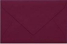 Umschlag rubinrot