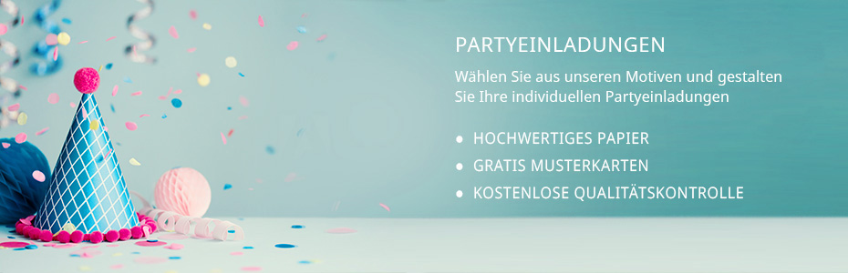 Party Einladungen