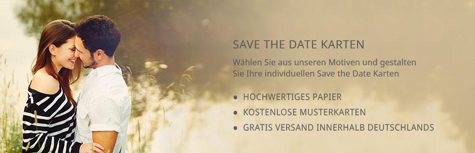 Save the date Karten - Hochzeit