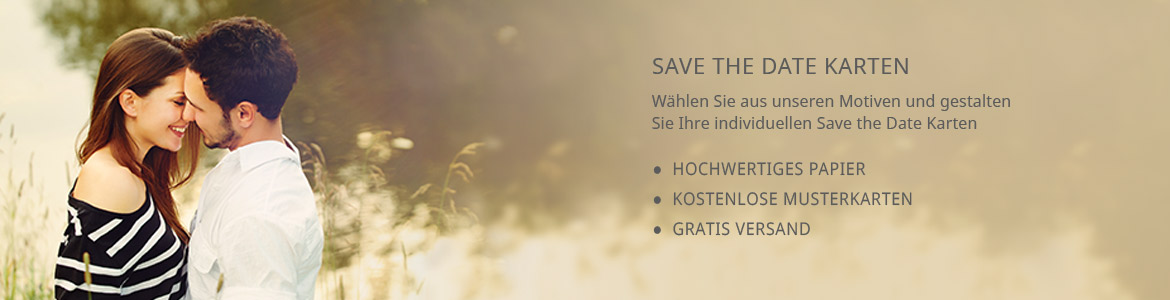 Save the Date Karten