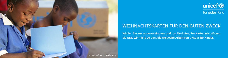 Weihnachtskarten UNICEF