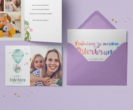 Einladungskarten Ostern
