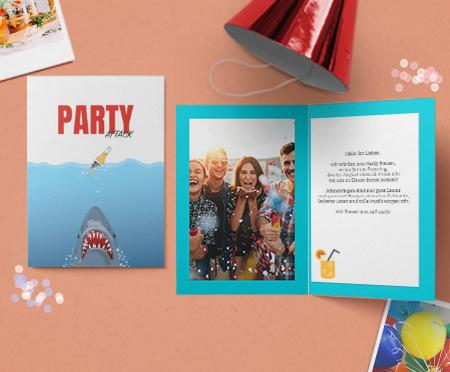 Einladungskarten Sommerfest