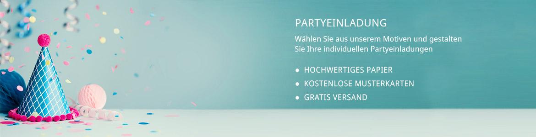 Party Einladungen