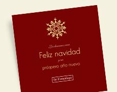 Felicitaciones navideñas de negocios