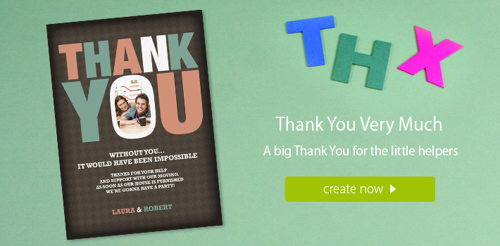 personal thank you cards